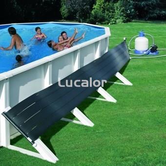 Calentador solar de superficie para piscinas gre for Calefactor para piscina