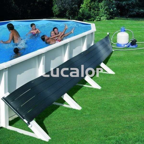 Calentador solar de superficie para piscinas gre for Piscinas de superficie rectangulares
