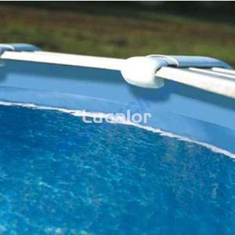 Liner azul piscina redonda gre altura 90cm espesor 30x100 - Liner piscina redonda ...
