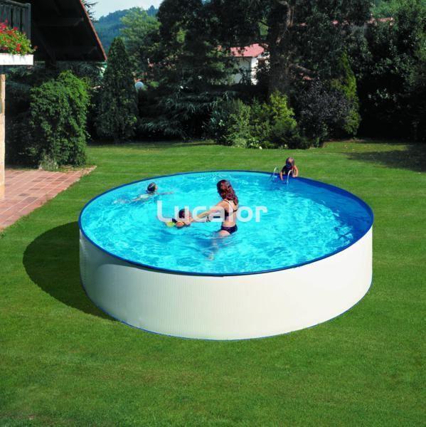 Piscina de gre serie lanzarote de gre h cm piscinas for Piscina h 90