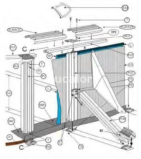 Protector esquina angulo piscina ovalada de gre for Repuesto piscina gre